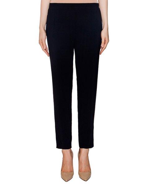 брюки из легкой ткани с широким эластичным поясом артикул EE0600 марки European Culture купить за 11300 руб.