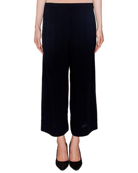 брюки кюлоты свободного кроя из легкой ткани артикул EE0690 марки European Culture купить за 12100 руб.