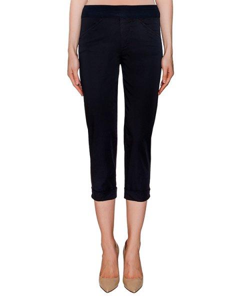 брюки укороченного кроя из хлопка артикул EE07A0 марки European Culture купить за 11300 руб.