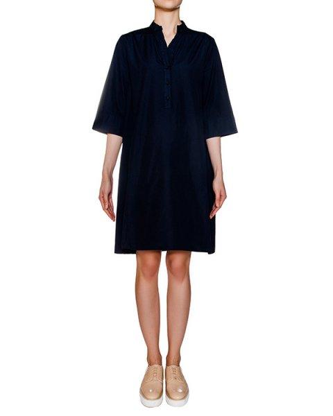 платье свободного кроя из хлопка артикул EE1440 марки European Culture купить за 6500 руб.