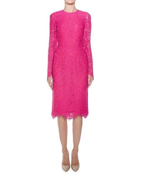 платье приталенного кроя из кружева артикул F16MAB409REB марки Marcobologna купить за 60700 руб.