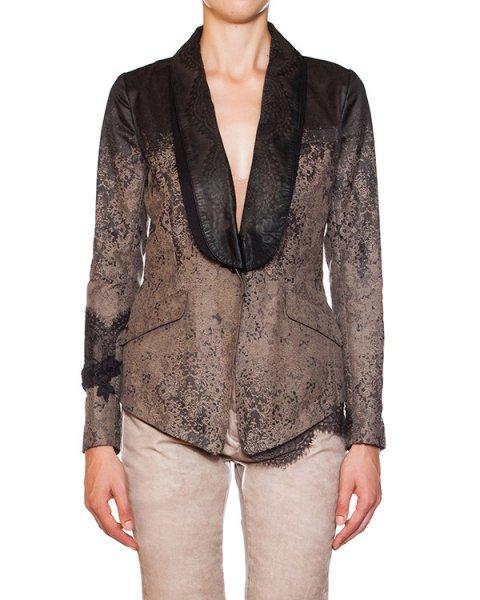пиджак с принтом в виде кружева и кружевной отделкой артикул FA1203 марки Share Spirit купить за 31900 руб.