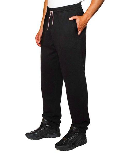 брюки спортивные из трикотажа артикул FW15U729 марки Maison Kitsune купить за 4800 руб.