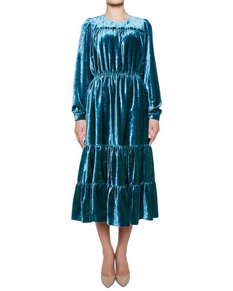 платье из бархата артикул FW17304velvet марки KATЯ DOBRЯKOVA купить за 20300 руб.