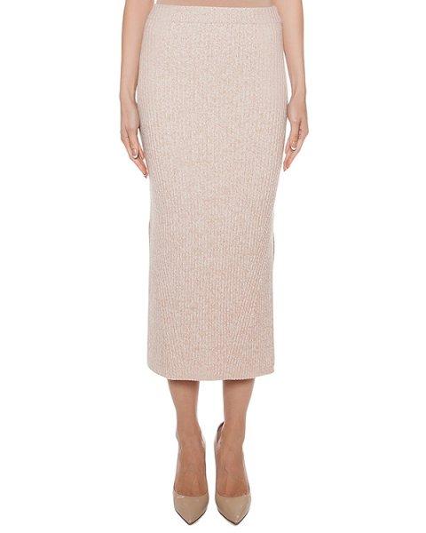 юбка из мягкой шерсти и кашемира с разрезами по бокам артикул G0051 марки MRZ купить за 13900 руб.