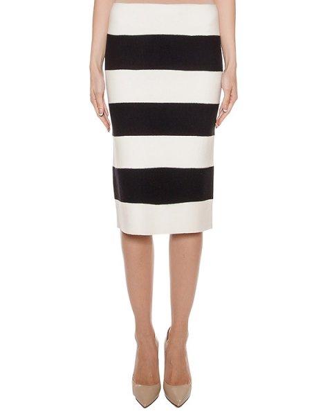 юбка из мягкой шерсти контрастных цветов артикул G0211 марки MRZ купить за 16900 руб.