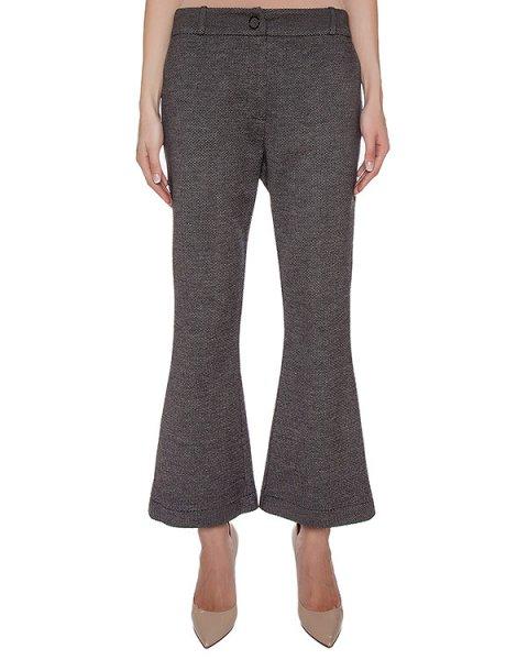 брюки расклешенные, из шерстяного трикотажа артикул GF16307F317 марки GRINKO купить за 10500 руб.