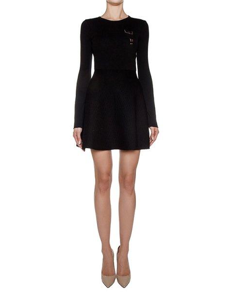 платье из плотного шерстяного трикотажа артикул GF16310F505 марки GRINKO купить за 23600 руб.