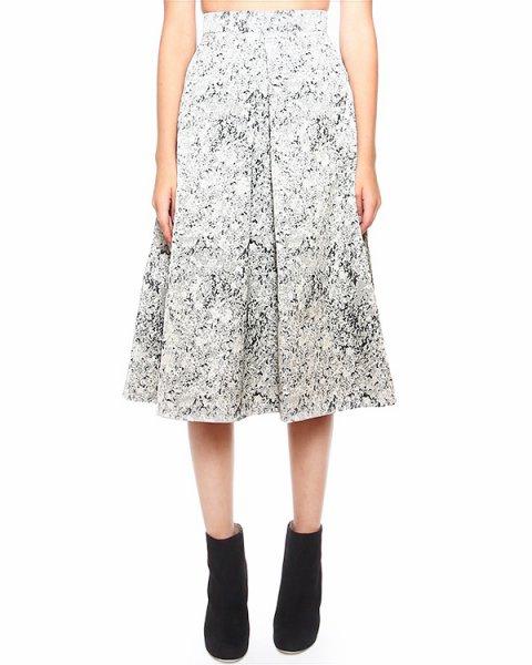 юбка расклешенного силуэта, с посадкой на талии артикул GIANNA марки San Andres купить за 20300 руб.