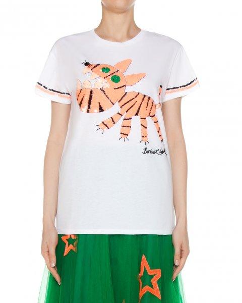 футболка  артикул GIGER110567 марки P.A.R.O.S.H. купить за 14000 руб.