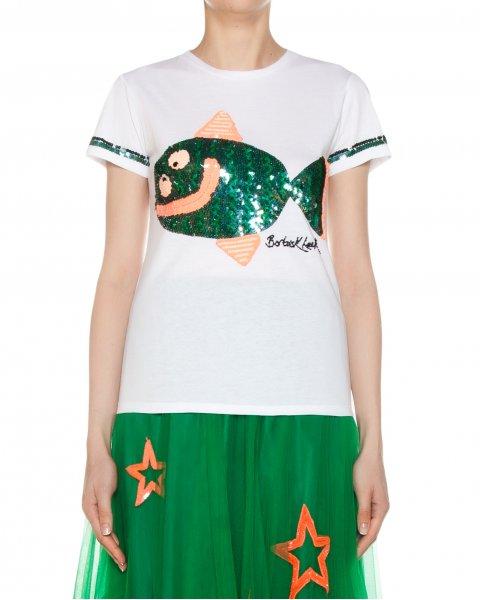 футболка  артикул GISH110561 марки P.A.R.O.S.H. купить за 12400 руб.