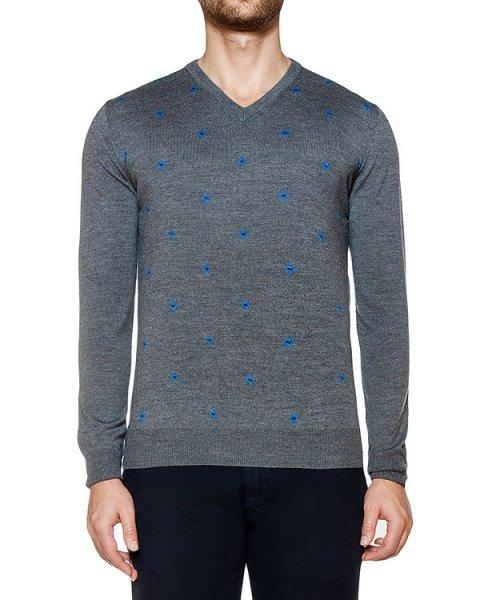 пуловер из мягкого шерстяного трикотажа  артикул H1686 марки Harmont & Blaine купить за 18400 руб.