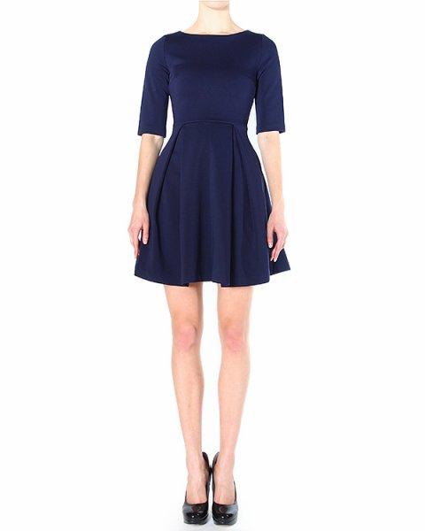 платье приталенное, с пышной юбкой и игривым разрезом на пояснице артикул H4CMDR марки Manoush купить за 21200 руб.