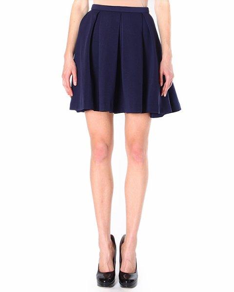 юбка из плотного трикотажа, драпированная крупными складками артикул H4CMJV марки Manoush купить за 13500 руб.