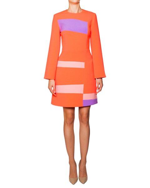 платье из яркой плотной ткани с контрастными цветовыми блоками артикул H815-1 марки Roksanda Ilincic купить за 63400 руб.