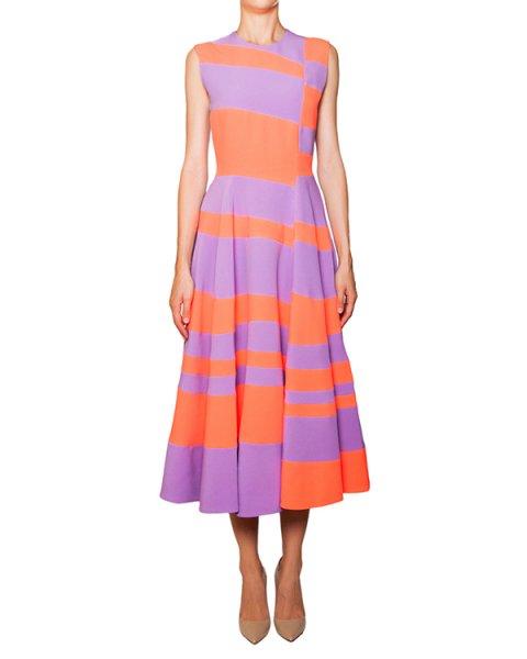 платье из яркой ткани с контрастными цветовыми блоками артикул H833-2 марки Roksanda Ilincic купить за 94500 руб.