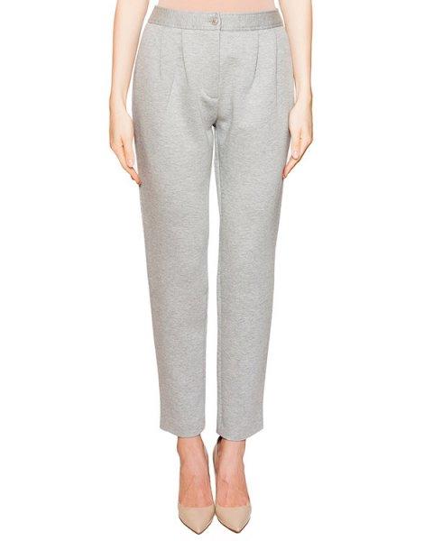 брюки из плотного хлопкового материала артикул HA0312 марки Moschino Boutique купить за 16100 руб.