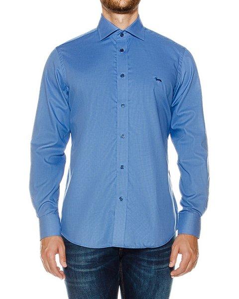 рубашка классического кроя из хлопка артикул HBC0290 марки Harmont & Blaine купить за 13200 руб.