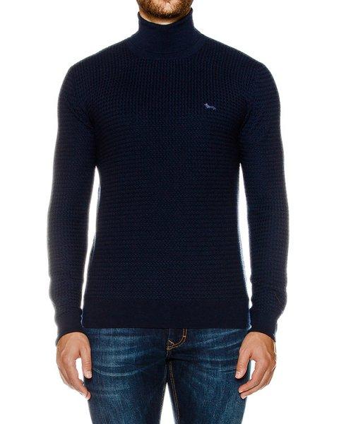 свитер из мягкой фактурной шерсти артикул HBH1725 марки Harmont & Blaine купить за 21200 руб.