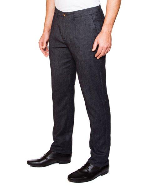 брюки классического кроя из полушерстяной ткани артикул HBW3254 марки Harmont & Blaine купить за 9100 руб.