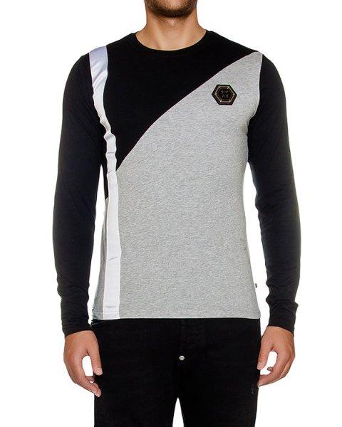 футболка из хлопкового трикотажа с логотипом бренда артикул HM331034 марки PHILIPP PLEIN купить за 27600 руб.