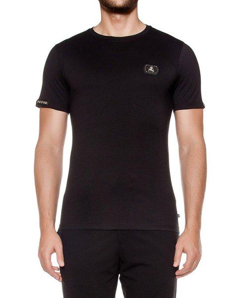 футболка из хлопкового трикотажа артикул HM342714 марки PHILIPP PLEIN купить за 27100 руб.