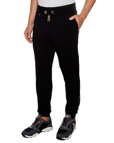 брюки в спортивном стиле из плотного трикотажа артикул HM681424 марки PHILIPP PLEIN купить за 46200 руб.