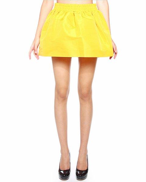 юбка mini, объемная, из плотного комбинированного материала артикул HR0GN3E0 марки Valentino Red купить за 7300 руб.
