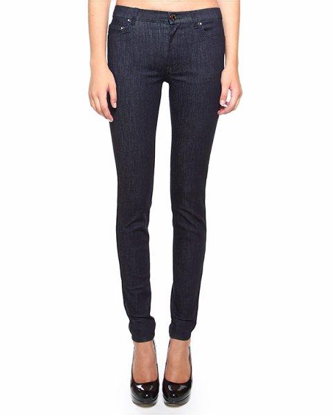 джинсы зауженного кроя со средней посадкой артикул HRAD135A марки Valentino Red купить за 7700 руб.