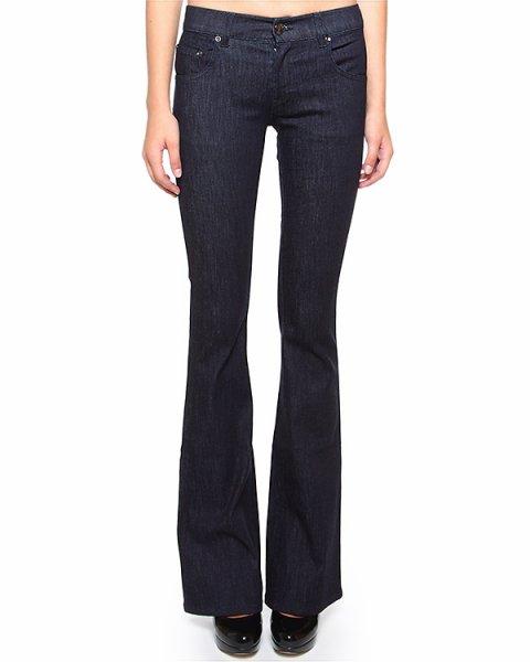 джинсы с легким клешем от колена и пятью карманами артикул HRAD135B марки Valentino Red купить за 8500 руб.