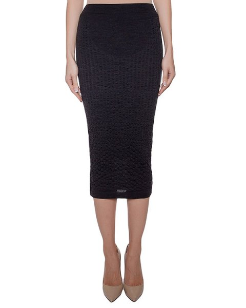 юбка из мягкого шерстяного трикотажа артикул I16I20434 марки MALLONI купить за 8400 руб.