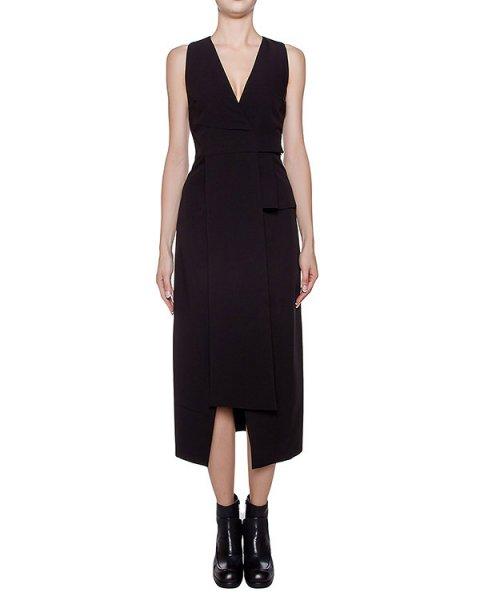 платье асимметричного кроя из плотной ткани артикул I16I40361 марки MALLONI купить за 19200 руб.