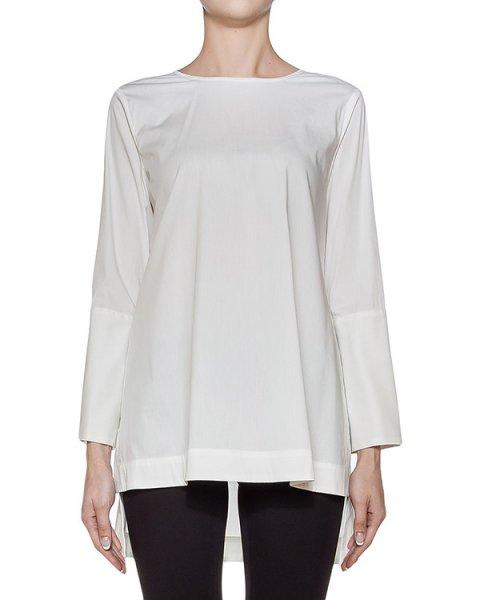 блуза свободного кроя из хлопка артикул I16I60142 марки MALLONI купить за 12600 руб.