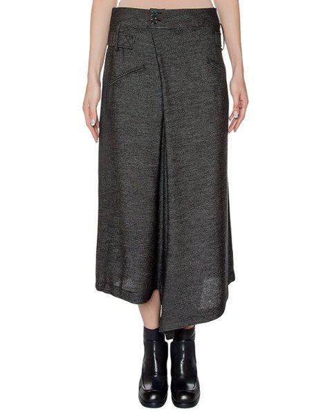 брюки асимметричного кроя из тонкой полушерстяной ткани артикул I16I70332 марки MALLONI купить за 26600 руб.