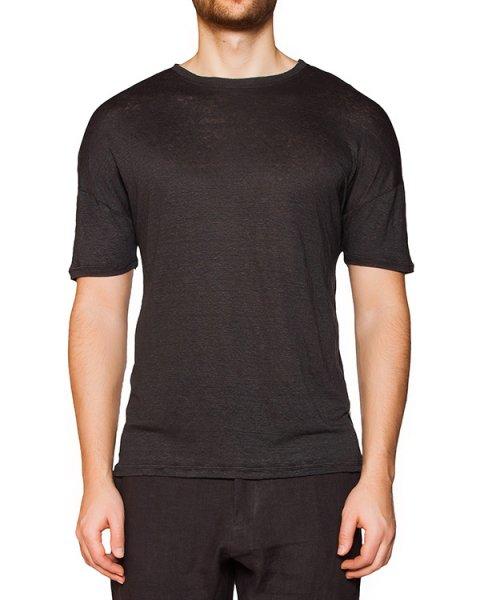 футболка из мягкого льняного трикотажа артикул IB1809 марки Isabel Benenato купить за 21800 руб.