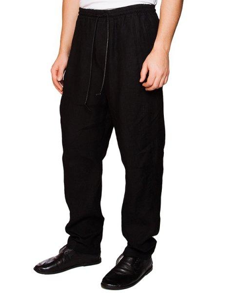 брюки свободного кроя из мягкого льна артикул IB1847 марки Isabel Benenato купить за 41800 руб.