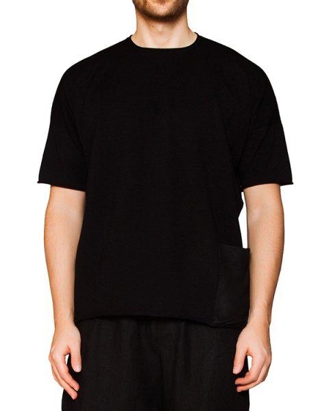 футболка из мягкого эластичного трикотажа с накладным карманом артикул IB1897 марки Isabel Benenato купить за 30600 руб.