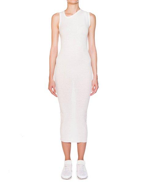 платье из эластичного тонкого хлопка в рубчик артикул IB2617 марки Isabel Benenato купить за 15100 руб.