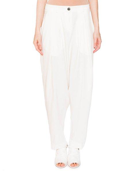 брюки свободного кроя из трикотажа артикул IB2633 марки Isabel Benenato купить за 33100 руб.