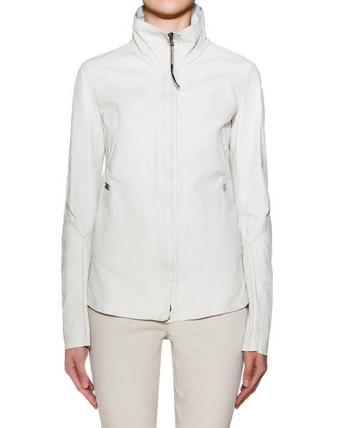 куртка из натурально кожи с металлической фурнитурой артикул IMPASSIBLE марки Isaac Sellam купить за 107700 руб.