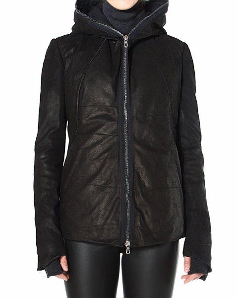 куртка с объемным капюшоном и имитацией перчаток артикул INCONSCIENTE марки Isaak Sellam купить за 122900 руб.