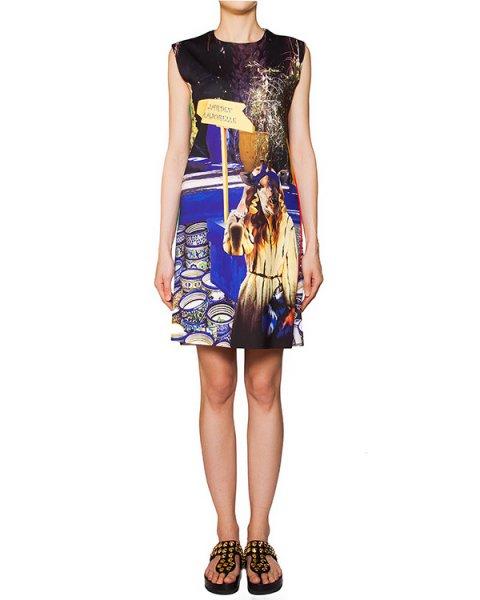 платье из тонкой эластичной ткани с ярким абстрактным рисунком артикул JARDEN марки The Artistylist купить за 9800 руб.