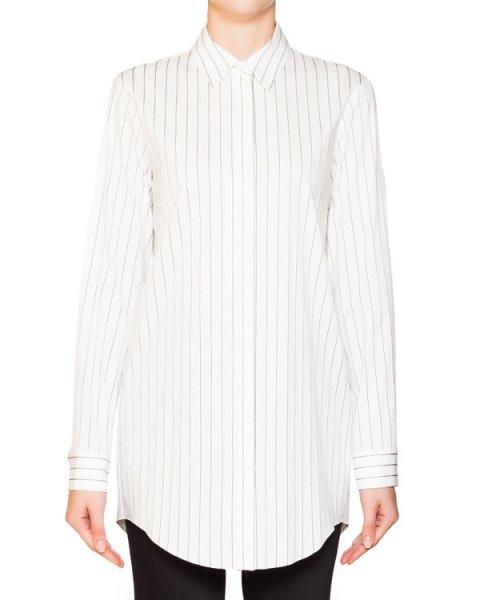 рубашка из хлопка в тонкую полоску артикул JDF317A марки Jil Sander купить за 12700 руб.
