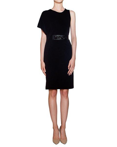 платье асимметричного кроя с поясом артикул JEJEY720463Z марки P.A.R.O.S.H. купить за 12600 руб.