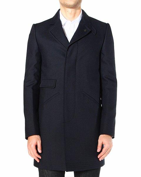 пальто однобортное, классического прямого кроя артикул JP133592 марки Mauro Grifoni купить за 28900 руб.