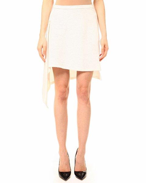 юбка асимметричного кроя, удлиненная по правой стороне артикул JUCE марки Lutz Huelle купить за 19500 руб.