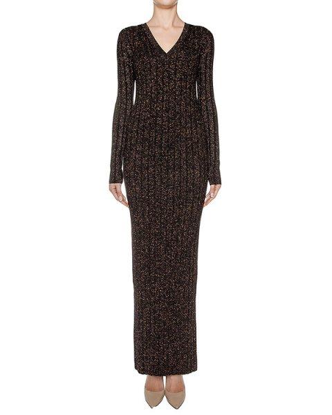 платье из шерстяного трикотажа с люрексовыми нитями артикул KD0490203 марки Graviteight купить за 33600 руб.