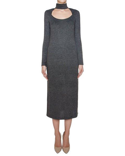 платье из мягкого хлопкового трикотажа артикул KFW1601 марки Kalmanovich купить за 31200 руб.