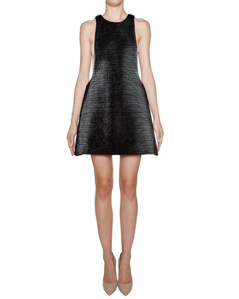 платье из плотной стеганой ткани артикул KFW1604 марки Kalmanovich купить за 31200 руб.