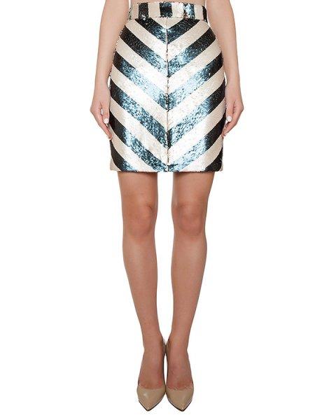 юбка расшитая цветными пайетками артикул KFW1607 марки Kalmanovich купить за 38400 руб.